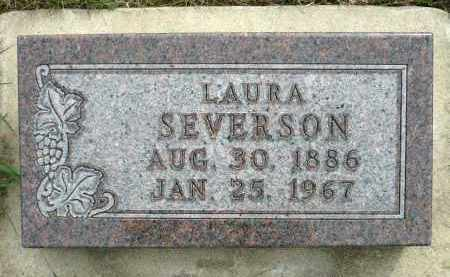 SEVERSON, LAURA - Minnehaha County, South Dakota | LAURA SEVERSON - South Dakota Gravestone Photos