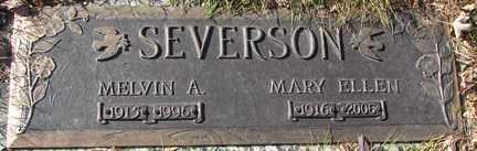 SEVERSON, MELVIN A. - Minnehaha County, South Dakota | MELVIN A. SEVERSON - South Dakota Gravestone Photos