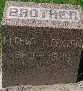 SEXTON, MICHAEL F. - Minnehaha County, South Dakota | MICHAEL F. SEXTON - South Dakota Gravestone Photos