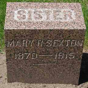 SEXTON, MARY R. - Minnehaha County, South Dakota | MARY R. SEXTON - South Dakota Gravestone Photos