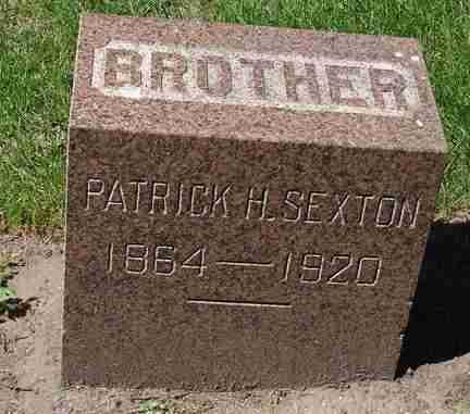 SEXTON, PATRICK H. - Minnehaha County, South Dakota   PATRICK H. SEXTON - South Dakota Gravestone Photos