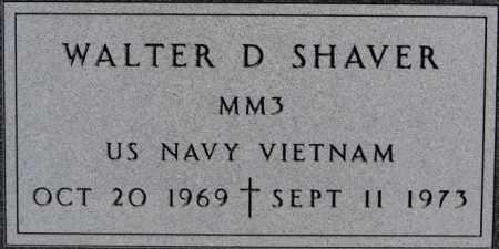 SHAVER, WALTER D (VIETNAM) - Minnehaha County, South Dakota | WALTER D (VIETNAM) SHAVER - South Dakota Gravestone Photos
