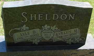 ABBAS SHELDON, EVELYN M. - Minnehaha County, South Dakota | EVELYN M. ABBAS SHELDON - South Dakota Gravestone Photos