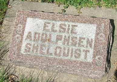 ADOLPHSEN SHELQUIST, ELSIE - Minnehaha County, South Dakota | ELSIE ADOLPHSEN SHELQUIST - South Dakota Gravestone Photos