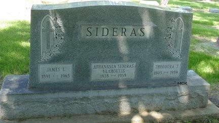 SIDERAS, JAMES L. - Minnehaha County, South Dakota | JAMES L. SIDERAS - South Dakota Gravestone Photos