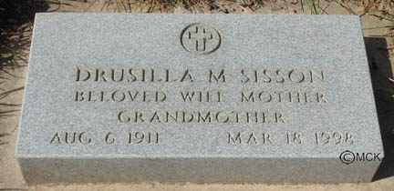 SISSON, DRUSILLA M. - Minnehaha County, South Dakota | DRUSILLA M. SISSON - South Dakota Gravestone Photos