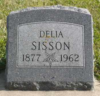 SISSON, DELIA - Minnehaha County, South Dakota | DELIA SISSON - South Dakota Gravestone Photos