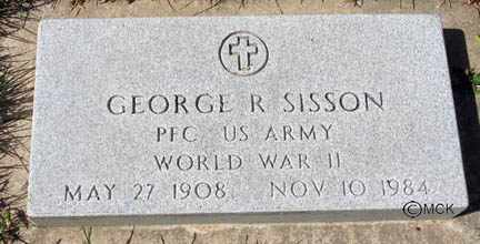 SISSON, GEORGE R. - Minnehaha County, South Dakota | GEORGE R. SISSON - South Dakota Gravestone Photos