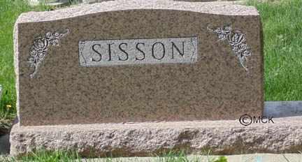 SISSON, HEADSTONE - Minnehaha County, South Dakota | HEADSTONE SISSON - South Dakota Gravestone Photos