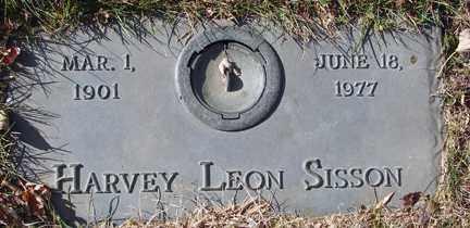 SISSON, HARVEY LEON - Minnehaha County, South Dakota | HARVEY LEON SISSON - South Dakota Gravestone Photos
