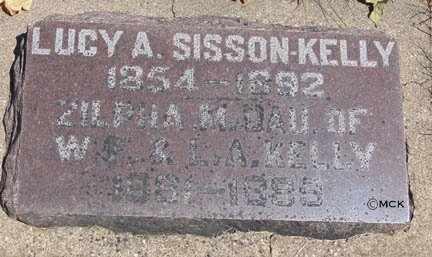 SISSON, LUCY A. - Minnehaha County, South Dakota | LUCY A. SISSON - South Dakota Gravestone Photos