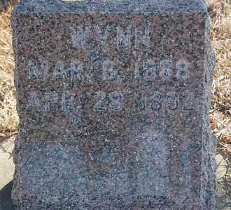 SISSON, WYNN - Minnehaha County, South Dakota   WYNN SISSON - South Dakota Gravestone Photos