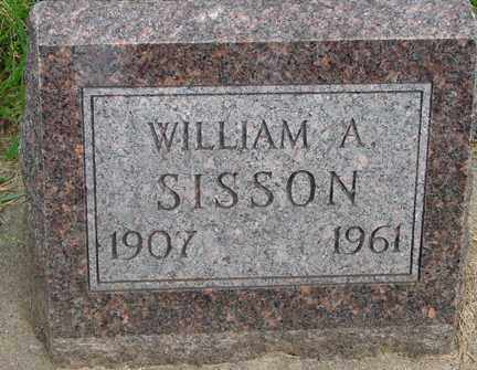 SISSON, WILLIAM A. - Minnehaha County, South Dakota | WILLIAM A. SISSON - South Dakota Gravestone Photos