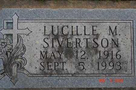SIVERTSON, LUCILLE M. - Minnehaha County, South Dakota | LUCILLE M. SIVERTSON - South Dakota Gravestone Photos