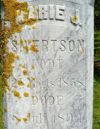 SIVERTSON, MARIE J. - Minnehaha County, South Dakota | MARIE J. SIVERTSON - South Dakota Gravestone Photos