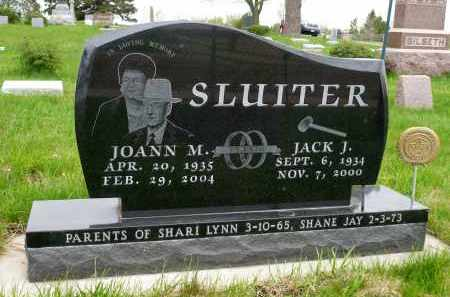 SLUITER, JOANN M. - Minnehaha County, South Dakota | JOANN M. SLUITER - South Dakota Gravestone Photos