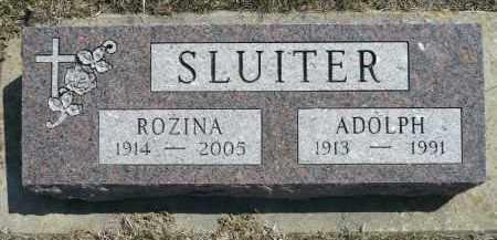 SLUITER, ROZINA - Minnehaha County, South Dakota   ROZINA SLUITER - South Dakota Gravestone Photos