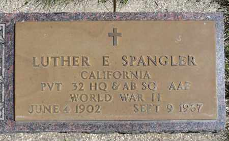 SPANGLER, LUTHER E. (WWII) - Minnehaha County, South Dakota | LUTHER E. (WWII) SPANGLER - South Dakota Gravestone Photos