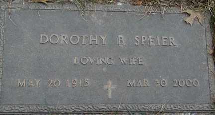 BARBER SPEIER, DOROTHY B. - Minnehaha County, South Dakota | DOROTHY B. BARBER SPEIER - South Dakota Gravestone Photos