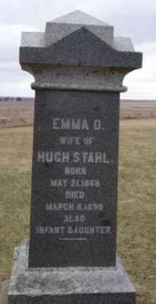 STAHL, INFANT DAUGHTER - Minnehaha County, South Dakota | INFANT DAUGHTER STAHL - South Dakota Gravestone Photos