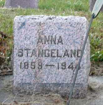 STANGELAND, ANNA - Minnehaha County, South Dakota | ANNA STANGELAND - South Dakota Gravestone Photos