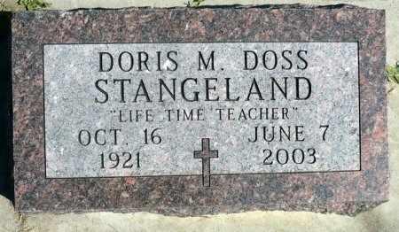 STANGELAND, DORRIS M. - Minnehaha County, South Dakota   DORRIS M. STANGELAND - South Dakota Gravestone Photos