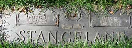 STANGELAND, LENA M. - Minnehaha County, South Dakota | LENA M. STANGELAND - South Dakota Gravestone Photos