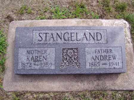 STANGELAND, KAREN - Minnehaha County, South Dakota   KAREN STANGELAND - South Dakota Gravestone Photos