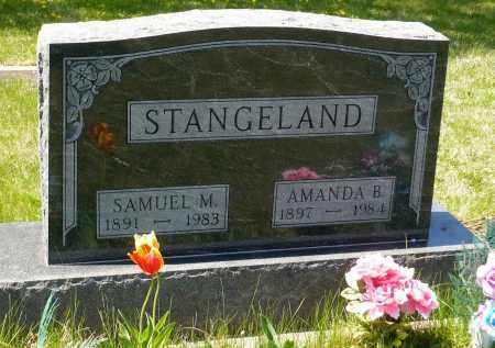 STANGELAND, AMANDA B. - Minnehaha County, South Dakota | AMANDA B. STANGELAND - South Dakota Gravestone Photos