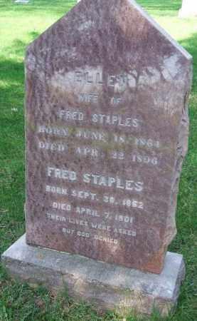 BAUM STAPLES, ELLEN - Minnehaha County, South Dakota | ELLEN BAUM STAPLES - South Dakota Gravestone Photos