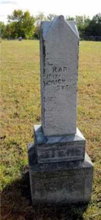 STENE, ERICK - Minnehaha County, South Dakota | ERICK STENE - South Dakota Gravestone Photos
