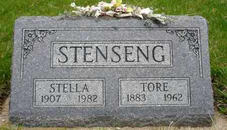 STENSENG, STELLA - Minnehaha County, South Dakota | STELLA STENSENG - South Dakota Gravestone Photos