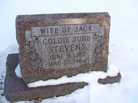 STEVENS, GOLDIE JUNE - Minnehaha County, South Dakota | GOLDIE JUNE STEVENS - South Dakota Gravestone Photos