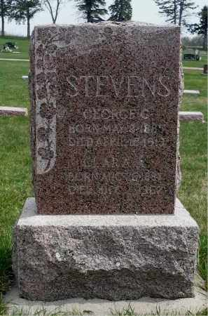 STEVENS, GEORGE G. - Minnehaha County, South Dakota | GEORGE G. STEVENS - South Dakota Gravestone Photos