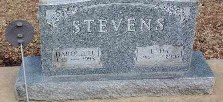 STEVENS, HAROLD H.. - Minnehaha County, South Dakota   HAROLD H.. STEVENS - South Dakota Gravestone Photos