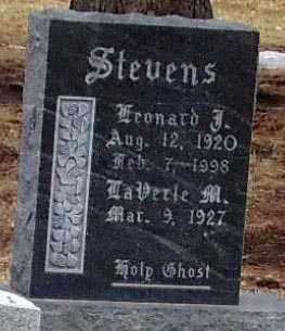 STEVENS, LAVERLE M. - Minnehaha County, South Dakota | LAVERLE M. STEVENS - South Dakota Gravestone Photos