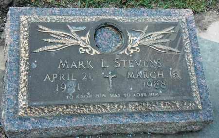 STEVENS, MARK L. - Minnehaha County, South Dakota | MARK L. STEVENS - South Dakota Gravestone Photos