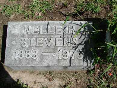 STEVENS, NELLE H. - Minnehaha County, South Dakota | NELLE H. STEVENS - South Dakota Gravestone Photos