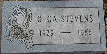 STEVENS, OLGA - Minnehaha County, South Dakota | OLGA STEVENS - South Dakota Gravestone Photos