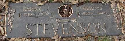 STEVENSON, GLADYS - Minnehaha County, South Dakota   GLADYS STEVENSON - South Dakota Gravestone Photos