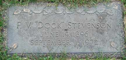 "STEVENSON, F.V. ""DOCK"" - Minnehaha County, South Dakota   F.V. ""DOCK"" STEVENSON - South Dakota Gravestone Photos"