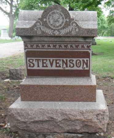STEVENSON, FAMILY STONE - Minnehaha County, South Dakota | FAMILY STONE STEVENSON - South Dakota Gravestone Photos