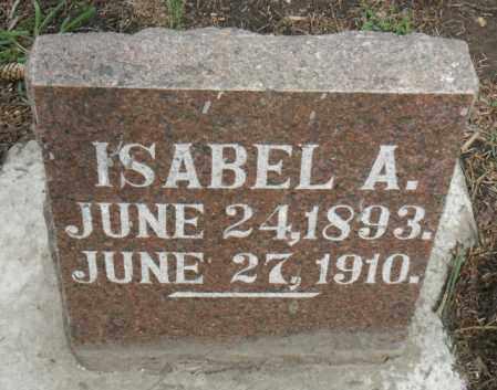 STEVENSON, ISABEL A. - Minnehaha County, South Dakota | ISABEL A. STEVENSON - South Dakota Gravestone Photos