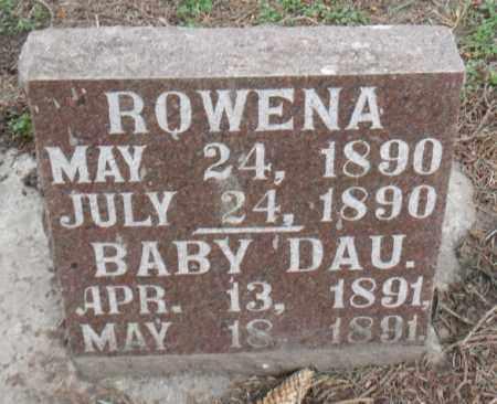 STEVENSON, INFANT DAUGHTER - Minnehaha County, South Dakota | INFANT DAUGHTER STEVENSON - South Dakota Gravestone Photos