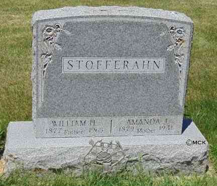 STOFFERAHN, WILLIAM H. - Minnehaha County, South Dakota | WILLIAM H. STOFFERAHN - South Dakota Gravestone Photos