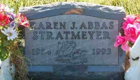 ABBAS STRATMEYER, KAREN J. - Minnehaha County, South Dakota | KAREN J. ABBAS STRATMEYER - South Dakota Gravestone Photos