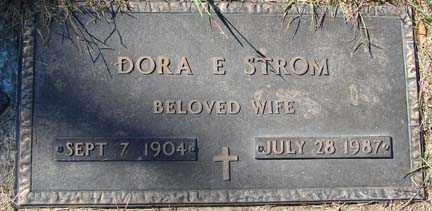 BAKKE STROM, DORA EVELYN - Minnehaha County, South Dakota | DORA EVELYN BAKKE STROM - South Dakota Gravestone Photos