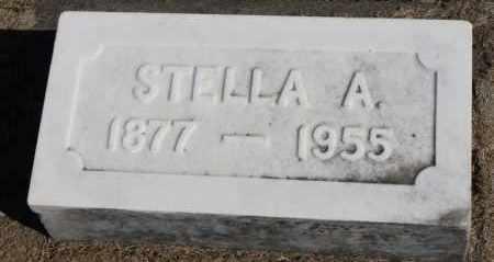 ANDERSON SUNDERBERG, STELLA A. - Minnehaha County, South Dakota | STELLA A. ANDERSON SUNDERBERG - South Dakota Gravestone Photos