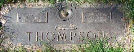 THOMPSON, ALVIN - Minnehaha County, South Dakota   ALVIN THOMPSON - South Dakota Gravestone Photos