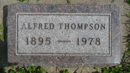THOMPSON, ALFRED - Minnehaha County, South Dakota | ALFRED THOMPSON - South Dakota Gravestone Photos